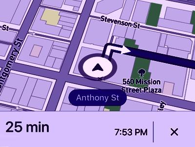 Reisemobil Navigation Kartenmaterial