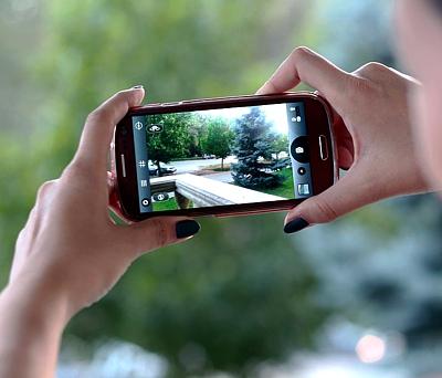 Reisemobil Smartphone - die Bildermaschine