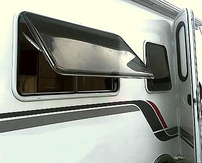 Wohnmobil Reinigung Acryfenster