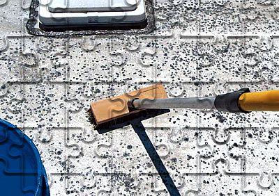 Reisemobil Reinigung Dach